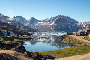 Залив Впускной в Гренландии