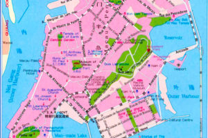 Подробная-карта-улиц-Макао