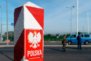 Въезд в Польшу на автомобиле